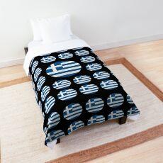 Greece Emoji JoyPixels Love Greek Comforter