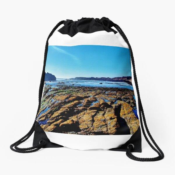 tide pools Drawstring Bag