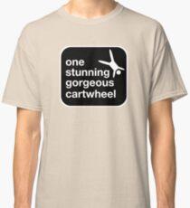 one stunning gorgeous cartwheel Classic T-Shirt