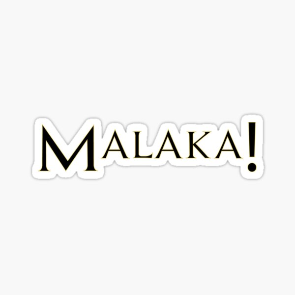 malaka Sticker