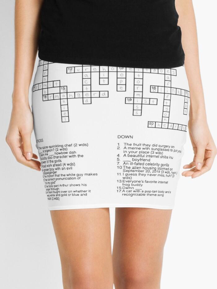 Cash Me Out Mini Skirt