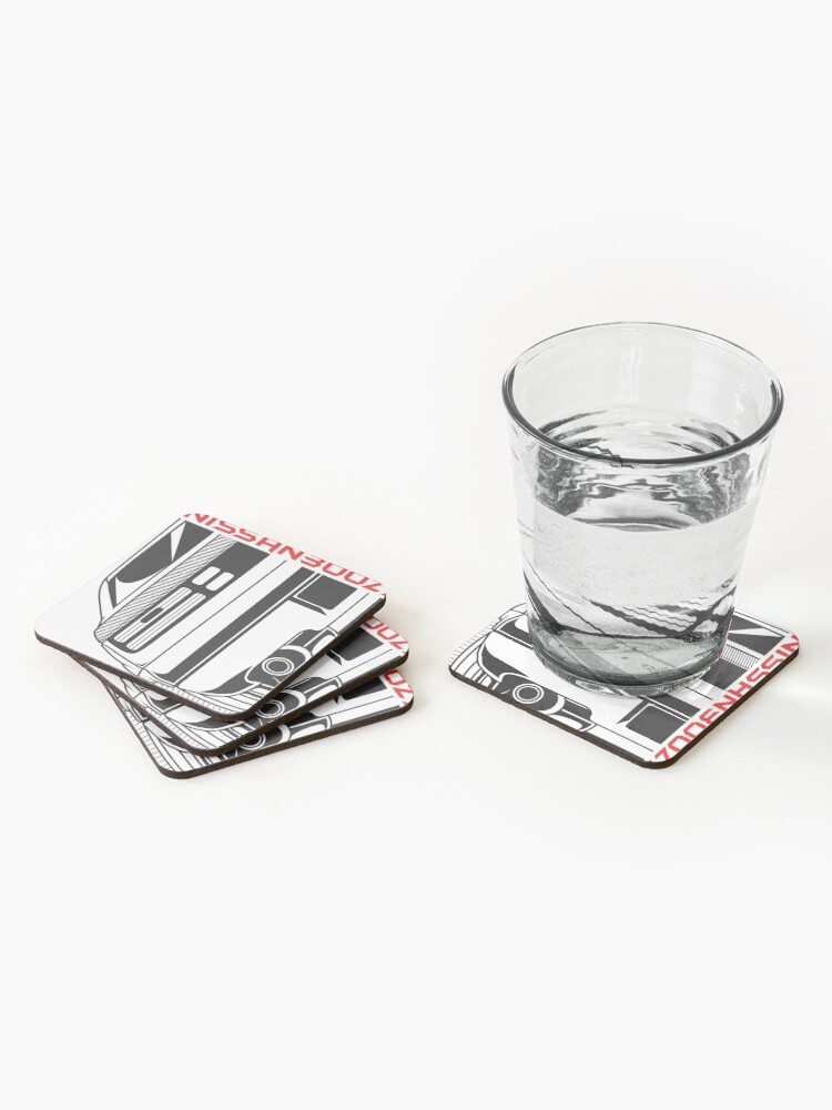 Alternate view of Nissan 300zx Coasters (Set of 4)