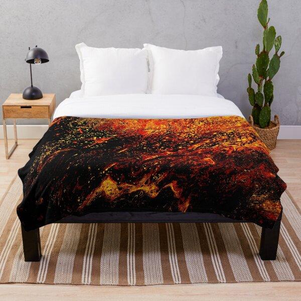 Phoenix Fire Throw Blanket