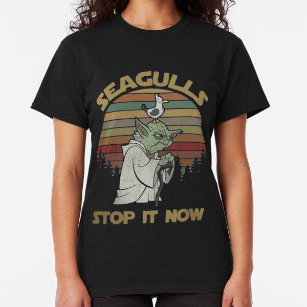 Seagulls stop it now vintage Classic T-Shirt
