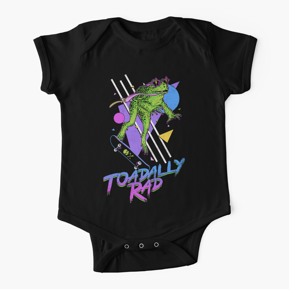 Toadally Rad Baby One-Piece