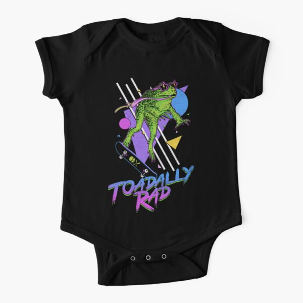 Toadally Rad Short Sleeve Baby One-Piece