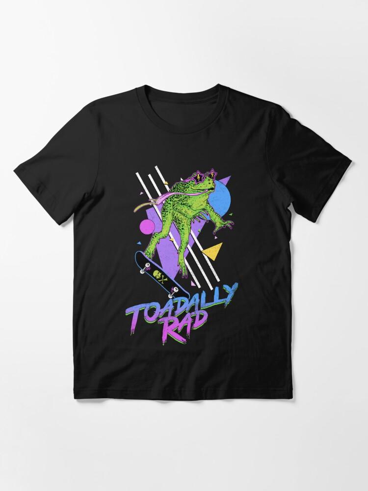 Vista alternativa de Camiseta esencial Toadally Rad