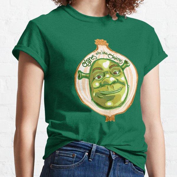 Los ogros de Shrek son como cebollas Camiseta clásica