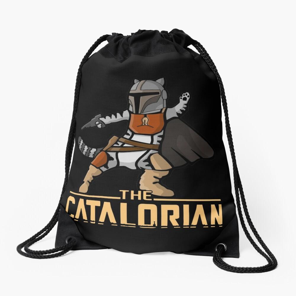 The Catalorian | Geekdom Series | DopeyArt Drawstring Bag