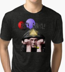 Aleister Crowley Party animal  Tri-blend T-Shirt
