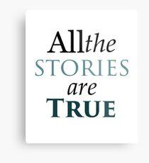 All The Stories Are True Metallbild