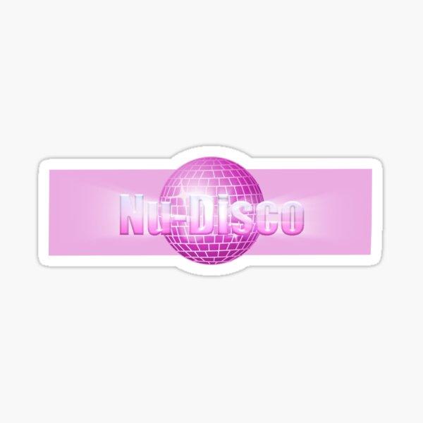 Nu-Disco (Pink) Sticker