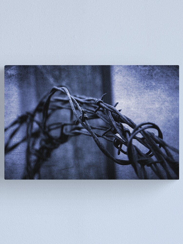 Alternate view of Tangled Up In Blue Canvas Print