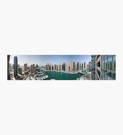 Dubai Marina Panorama Photographic Print