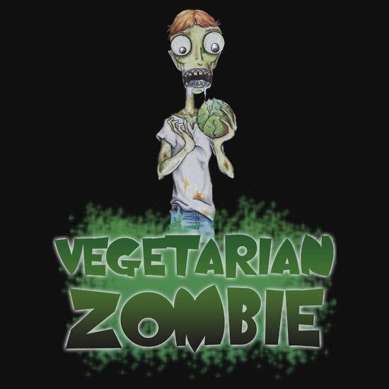 TShirtGifter presents: Vegetarian Zombie