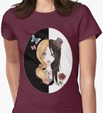 Yin Yang of Japanese Fashion Womens Fitted T-Shirt