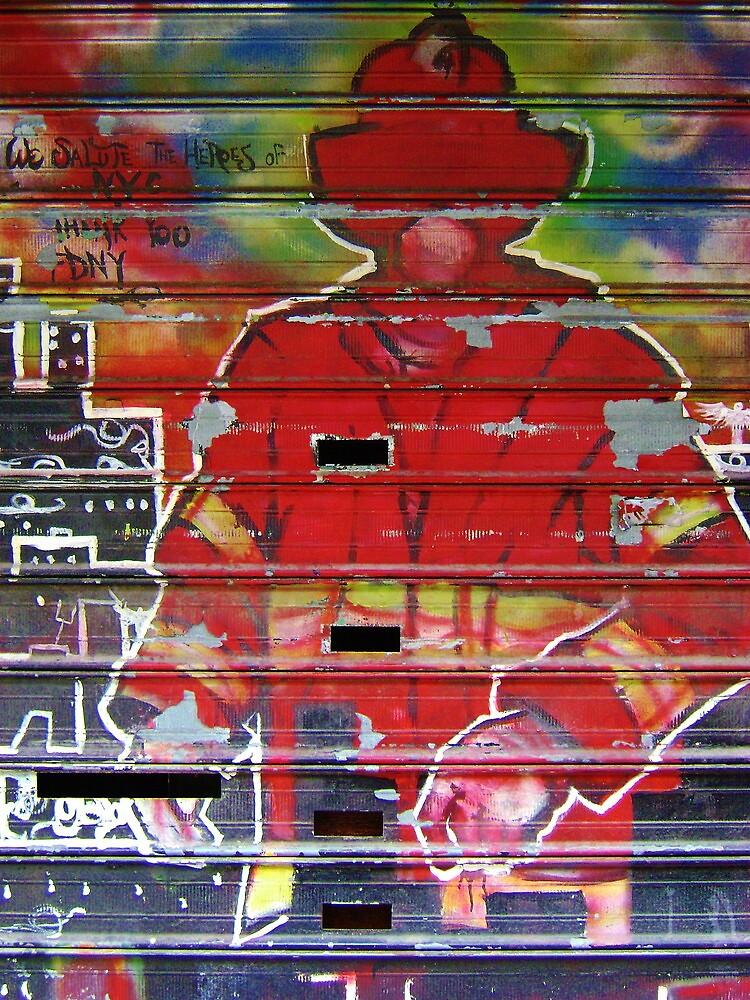 FDNY Mural by Harlan Mayor