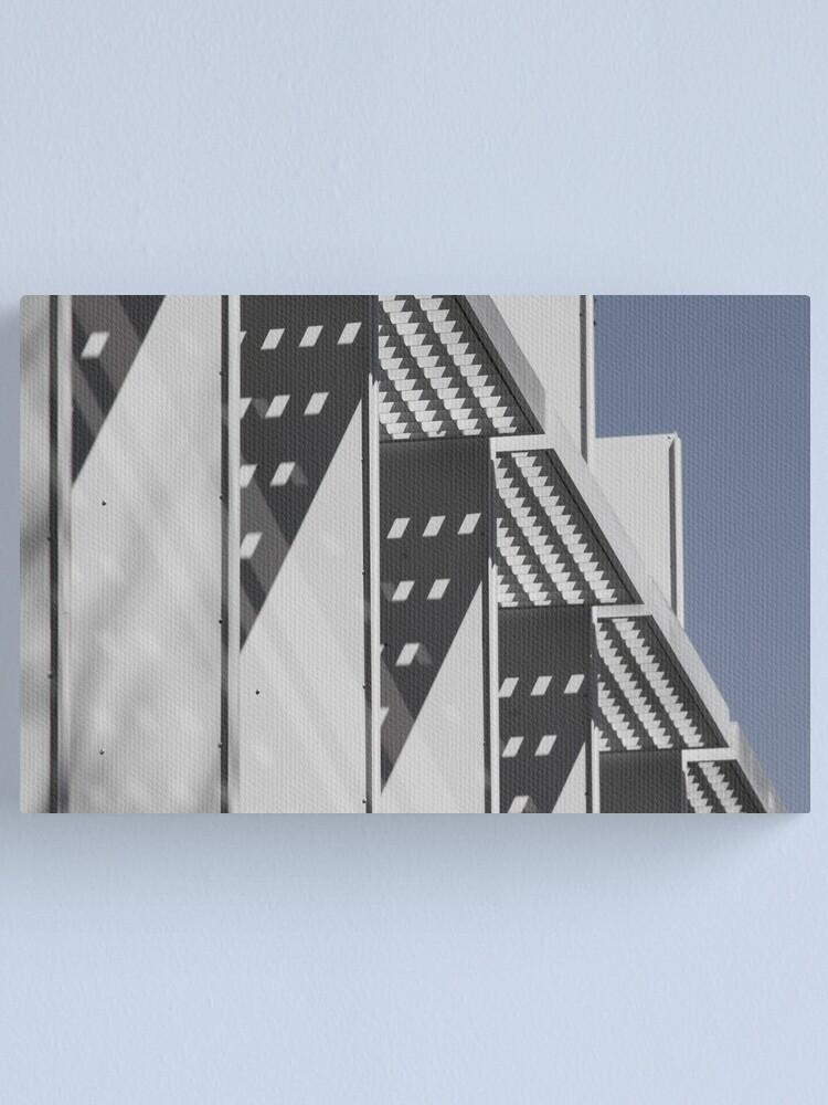 Alternate view of Triangular Shadows Canvas Print