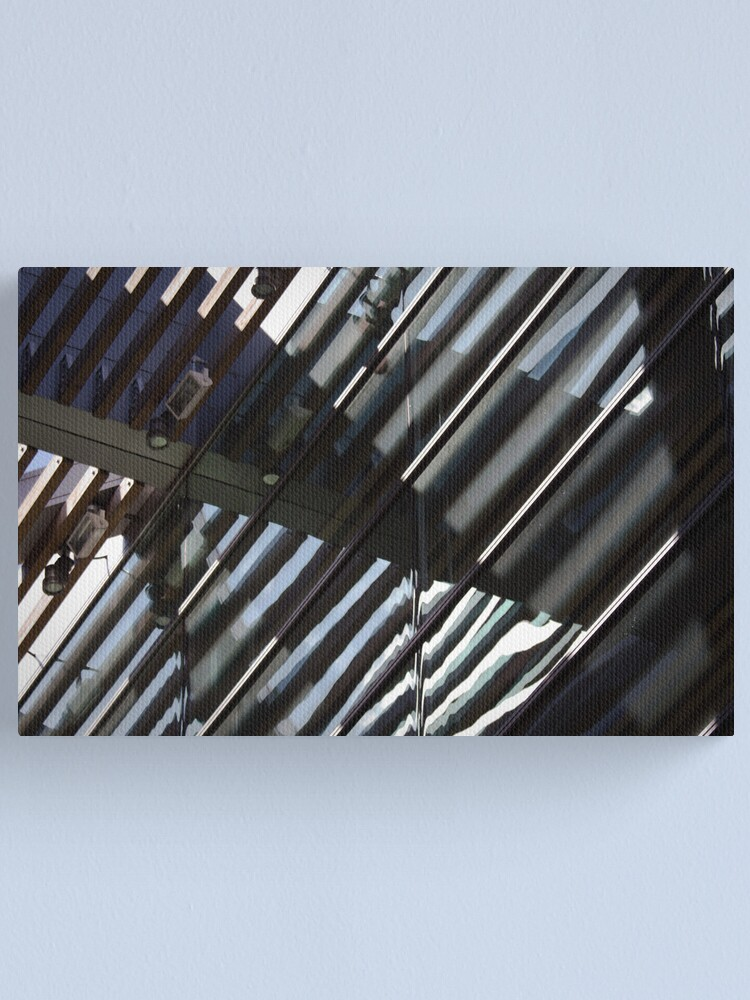 Alternate view of Roof Reflected Canvas Print