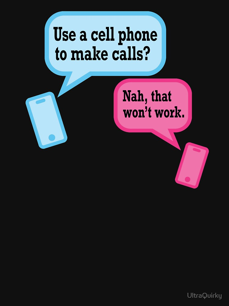 Teens and Phones. Humor for Gen Y and Gen Z. by UltraQuirky