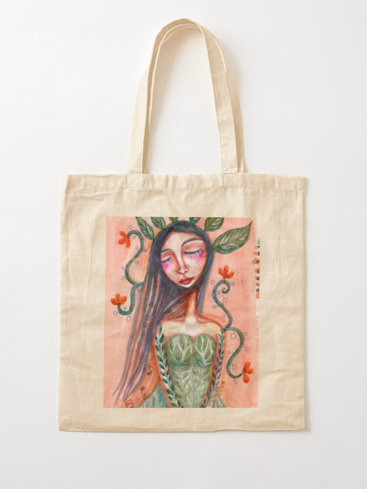 Alternate view of Waiting For Spring Tote Bag