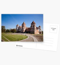 The Castle Of Mir, Belarus Postcards