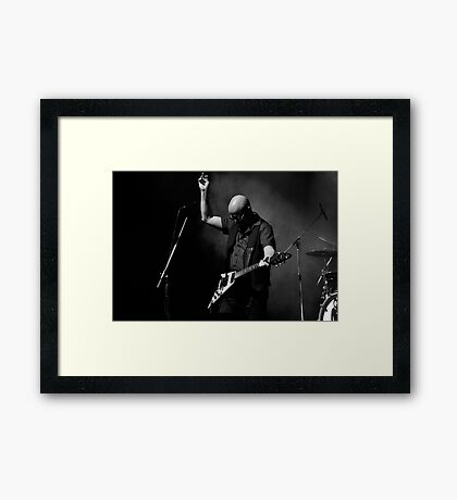 Andy Powell Framed Print
