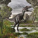 Utahraptor by Walter Colvin