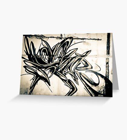 Lillesden Graffiti #1 Greeting Card