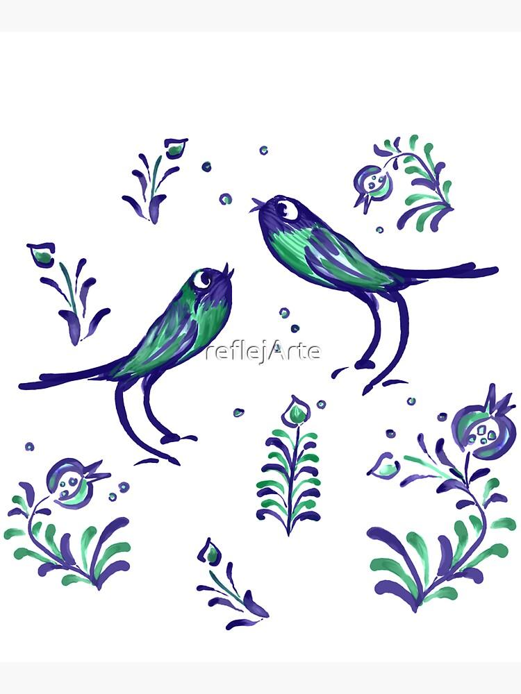 Granada  · Loving Birds Warbling Happiness · Grenada Albayzin Style by reflejArte