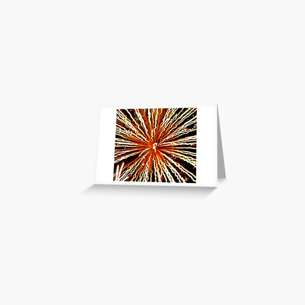 Fireworks - Ball of Confusion Greeting Card