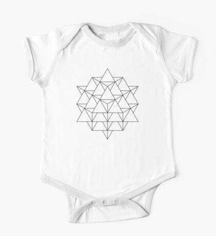 64 Tetrahedron Kids Clothes