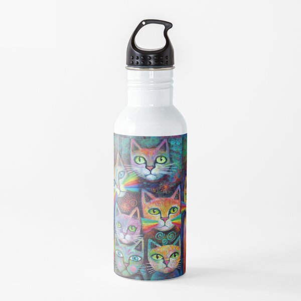 Magic Cats 17 Water Bottle
