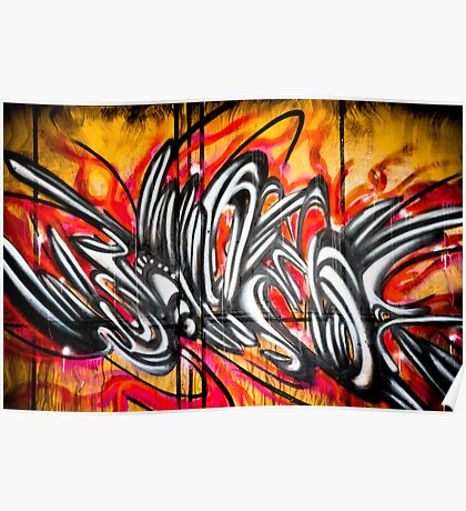 Lillesden Graffiti #2 Poster