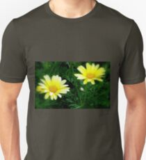 Geel Magrietjies / Yellow Marguerites Unisex T-Shirt