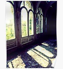 Glass Houses ~ Lillesden School Poster