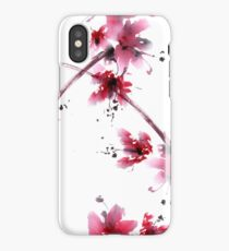 Sakura flower iPhone Case