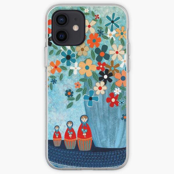 Babushka Love Floral iPhone Soft Case