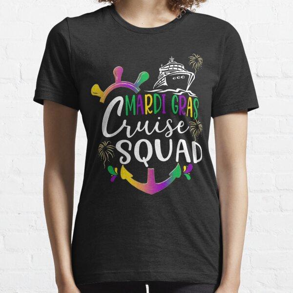 Mardi Gras Cruise Squad Essential T-Shirt