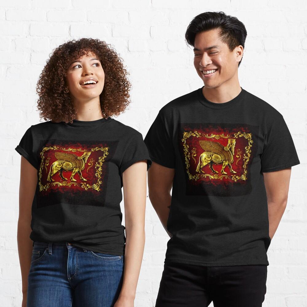 Assyrian LAMASSU ( WInged Bull)  Classic T-Shirt