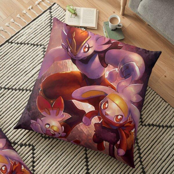 Scorbunny line Floor Pillow
