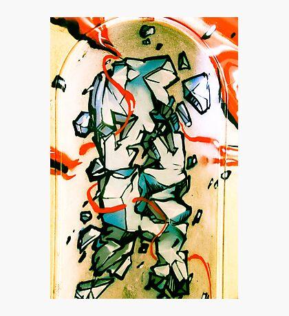 Lillesden Graffiti #5 Photographic Print