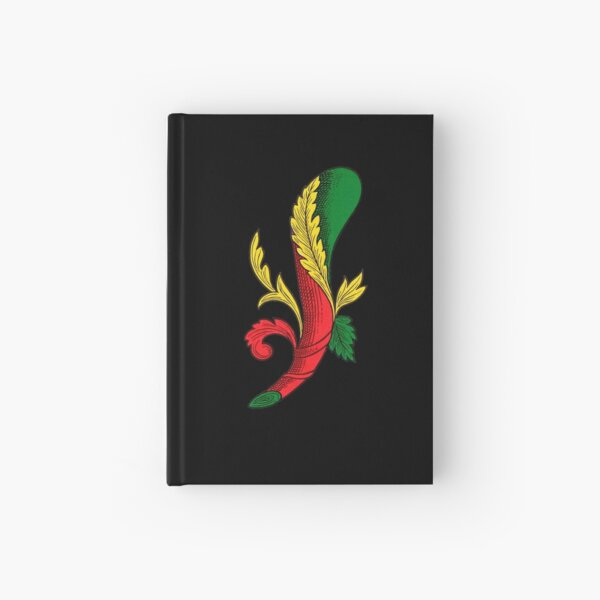 Italian Ace of Clubs Scopa / Briscola card Hardcover Journal