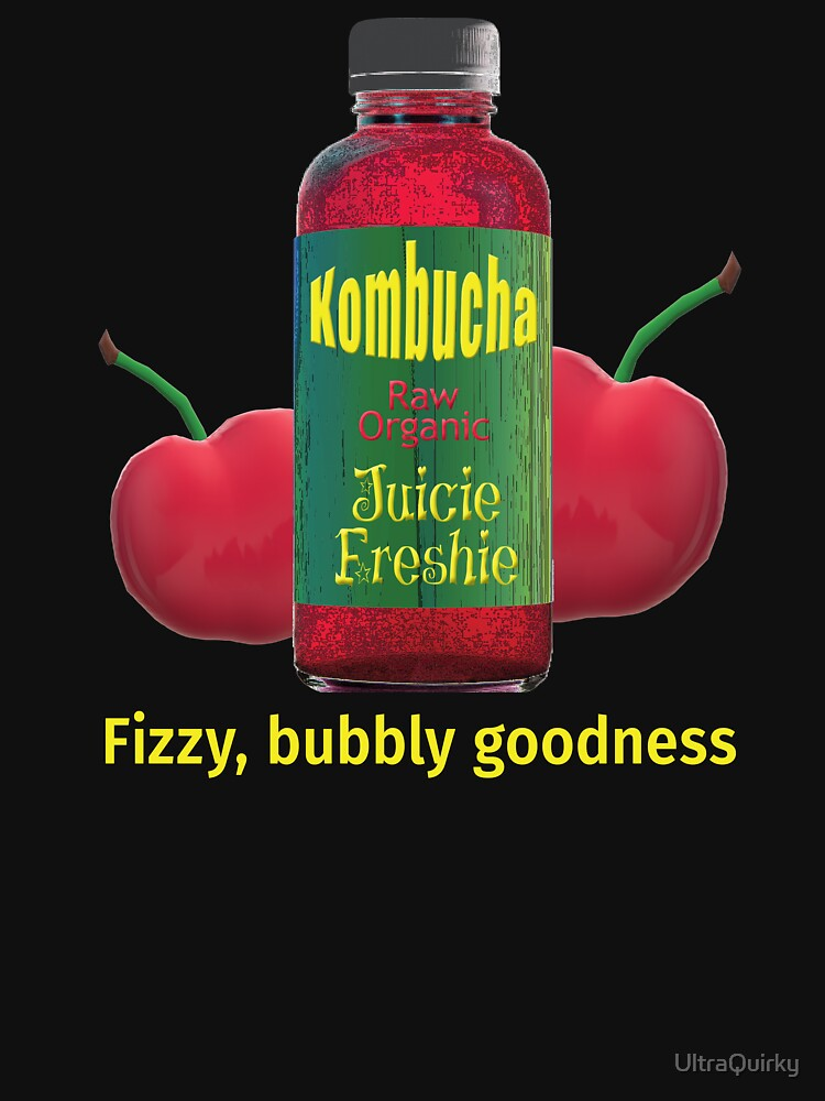 Kombucha. Fizzy Bubbly Goodness. by UltraQuirky