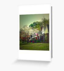 Dogwood Neighborhood Greeting Card