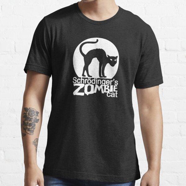 Schrodinger's Zombie Cat Essential T-Shirt