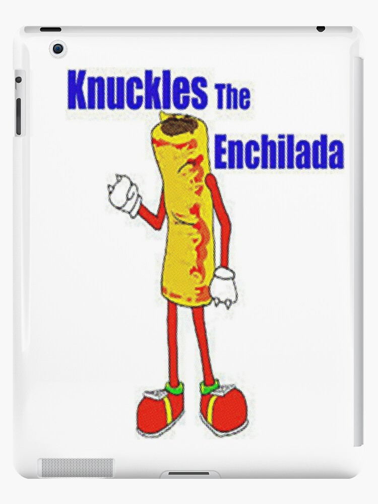 'Knuckles the Enchilada' iPad Case/Skin by Squidcase