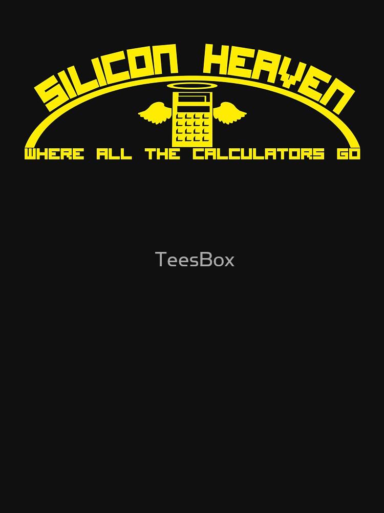 Silicon Heaven. Where All The Calculators Go. by TeesBox