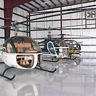 Chopper Triplets (Bell 47) by Pirate77