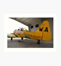 North American SNJ-6 Texan (Warbird Adventures) Art Print